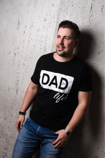 "Shirt ""Dad for Life"""